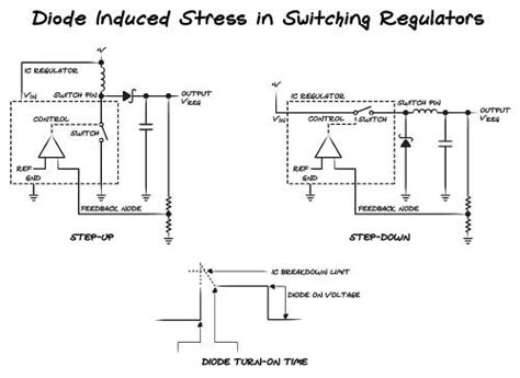 photo diode switching time solutions diode turn on time induced failures in switching regulators
