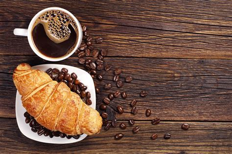 Images Coffee Croissant Grain Food Pastry