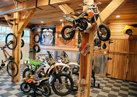 Dirt Bike Garage by The Elliott Home Traditional Garage And Shed Other