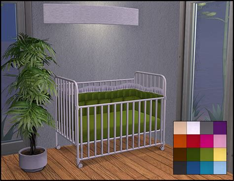 mod the sims simple maxis crib recolors