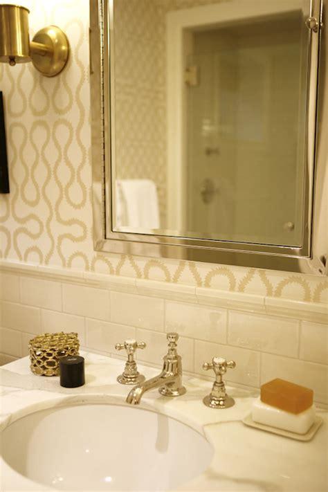 beige subway tile bathroom ivory subway tiles transitional bathroom john b
