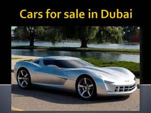Car Sales In Dubai Cars For Sale In Dubai Authorstream