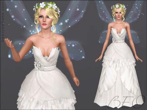 sims 3 wedding hair beo s bride fairy