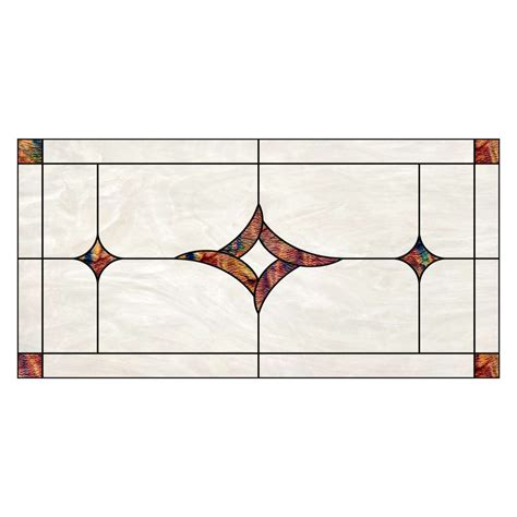 fluorescent gallery fg2605 01 24 stained glass centerpiece diffuser fluorescent decorative panel