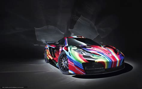rainbow cars wallpaper mclarencherny background rainbow