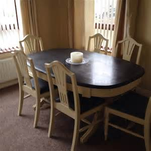 Dining Room Table Chalk Paint Makeover Chalk Paint Makeover Complete Pine Dining Table And