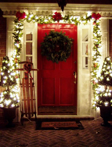 how to decorate a home for christmas beautiful outdoor christmas porch decoration ideas
