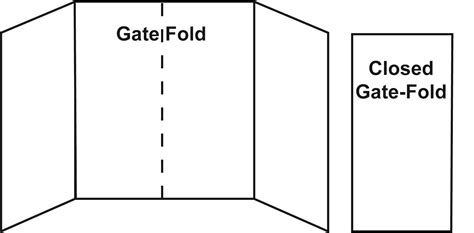 gate fold brochure template sle of gate fold