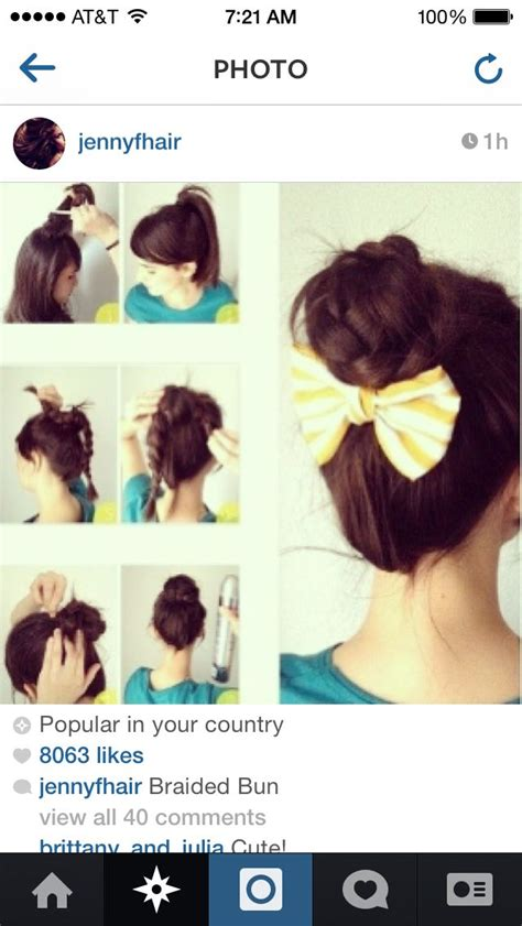 Hairstyles For A Casual Day | love this hairstyle for a casual day cute hairstyles