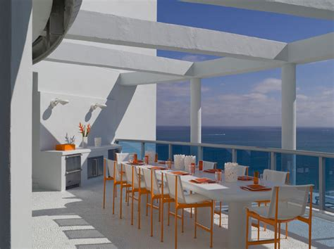 jennifer post designed apartment at the bath club miami outdoor kitchens top 5 modern picks from houzz michelle
