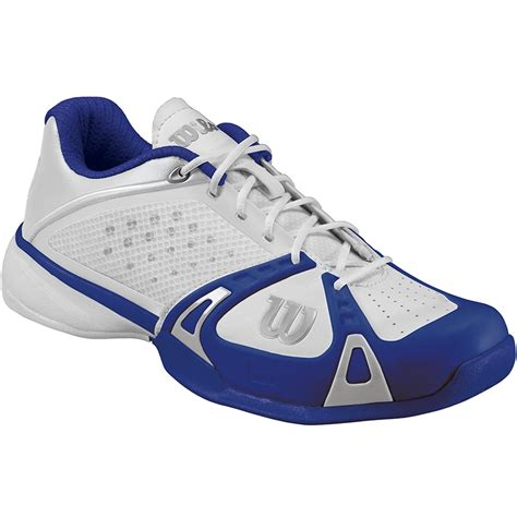 wilson tennis shoes wilson pro s tennis shoes white cobalt ink