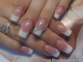 acrylic nail designs french tip images