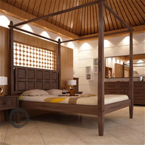tropical canopy bed tansu asian furniture boutique tansunet