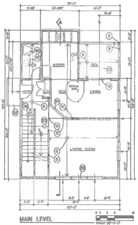 Sample Floor Plan With Measurements King County Example Floor Plan Main Wonderful Sample