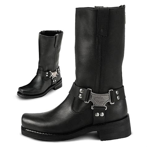 s milwaukee 174 10 quot classic harness boots black