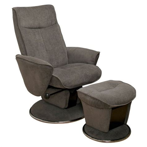 Relax R Chair by Mac Motion Relax R Swivel Glider Recliner With Ottoman In