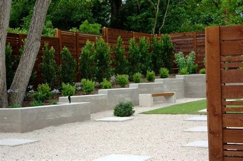 houzz backyards minimalist backyard modern landscape austin by