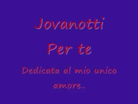 vote no on a te lyrics jovanotti