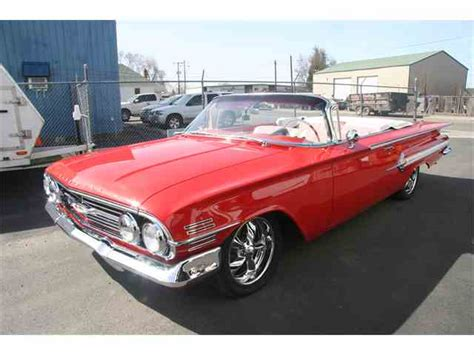 classic impala for sale 1960 chevrolet impala for sale on classiccars