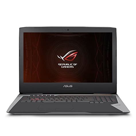 Laptop Asus 17 Inch I7 asus rog g701vo ih74k oc edition 17 3 inch fhd gaming laptop intel i7 6820hk 32gb ram