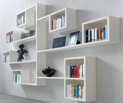 Rak Buku Dinding Modern ツ 50 model lemari rak buku gantung minimalis modern