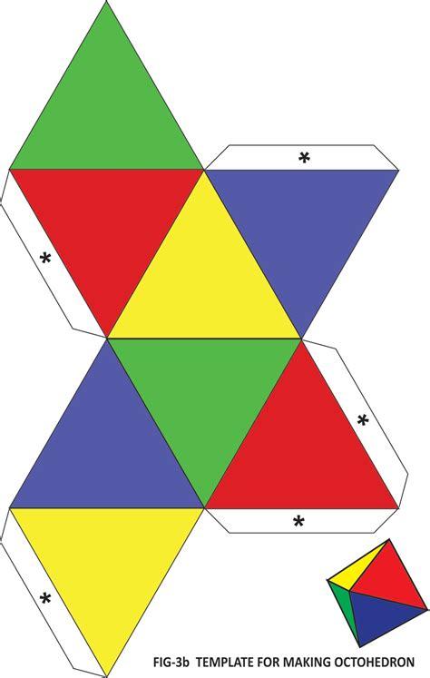 platonic solids templates with mathematics platonic solids