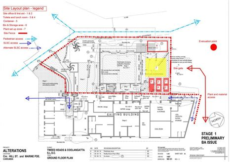 Building Site Plan | construction site layout planning