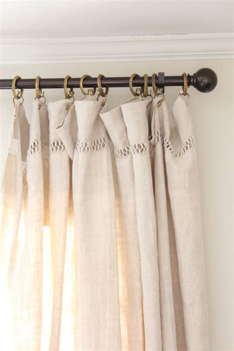 french linen curtains love the way french linen sheets hang as curtains linen
