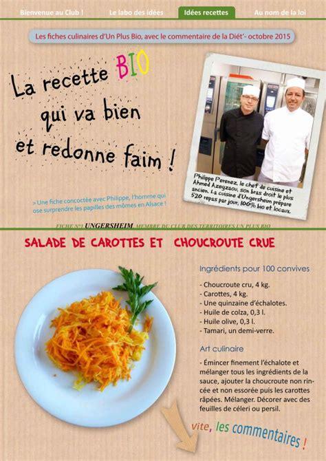 cuisiner la choucroute cuisiner choucroute crue bio