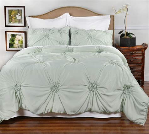 Empress Silk Comforter by Tufted Gathering Floral Comforter Set Fiona Style