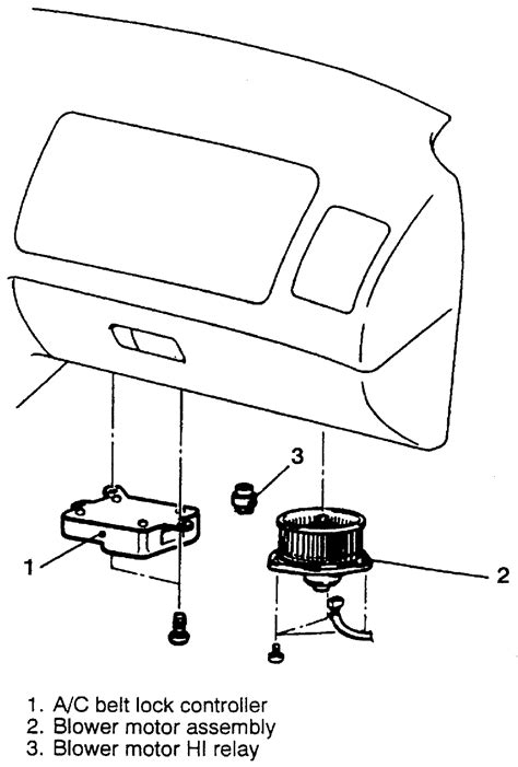  Repair Guides   Blower Motor   Removal & Installation