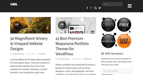 html design blog 40 web design blogs to follow in 2015 elegant themes blog
