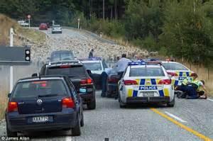 Car Tires Queenstown High Speed Near Queenstown New Zealand Ends When