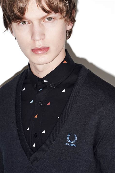 fred perry x raf simons aw15 capsule collection