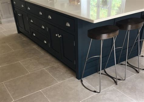 tile kitchen floor limestone is proving more and more popular for a kitchen floor
