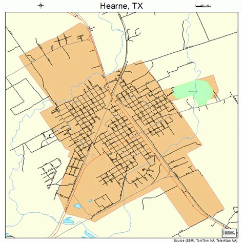 hearne texas map hearne texas map 4832972