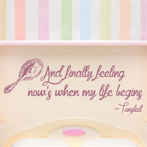 tangled wall stickers tangled wall sticker quote wall