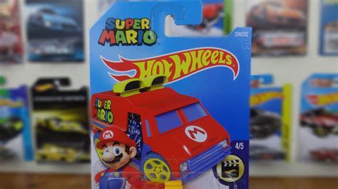 Hotwheels Mario Bros Mario 2016 hotwheels mario bros world wide carro mario hotwheels