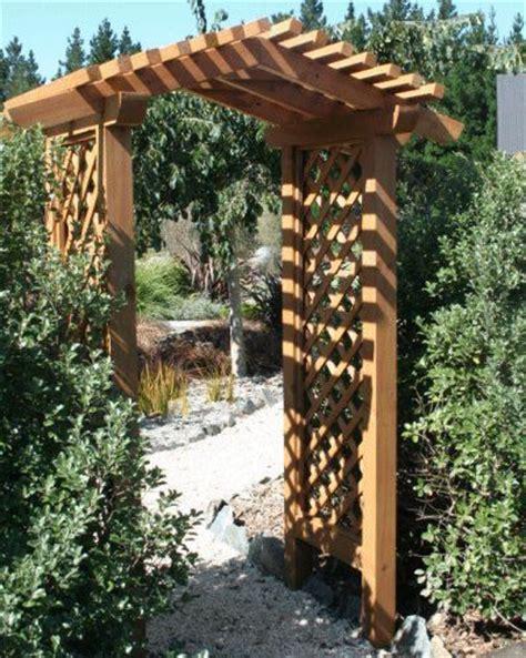Walk Through Trellis walk through garden arbor garden ideas