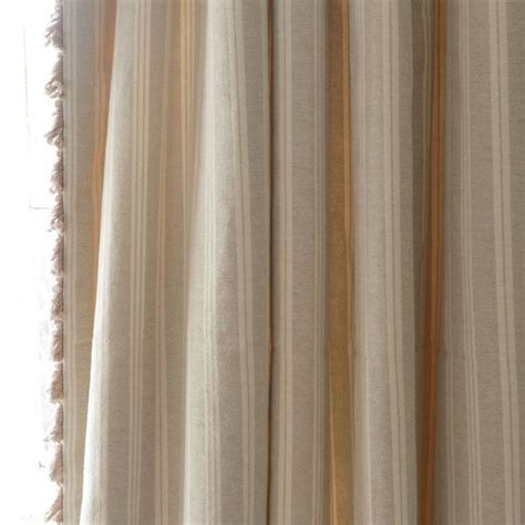 ivory and grey curtains 17 best ideas about striped curtains on pinterest stripe