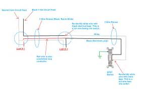 wiring diagram power into light k
