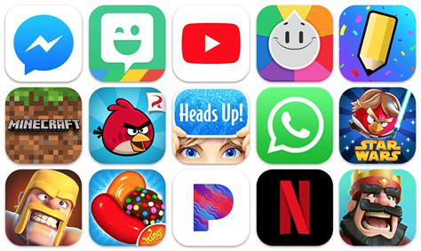 Top iPhone Apps On App Store Of All Time: Social And Gaming Apps Dominate   Dazeinfo