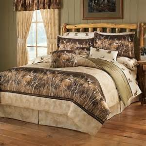 cheap wildlife trio whitetail deer comforter set