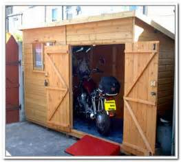 diy motorcycle storage shed home design ideas