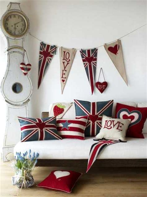 flag decorations for home 30 patriotic decoration ideas union jack themed decor in