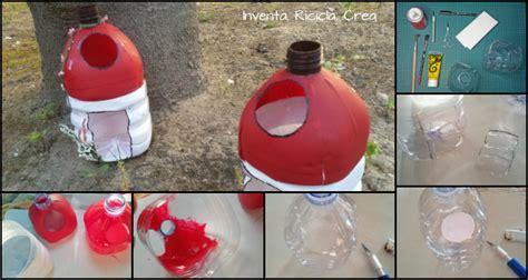 cassette in plastica per bottiglie casette con le bottiglie di plastica inventa ricicla crea