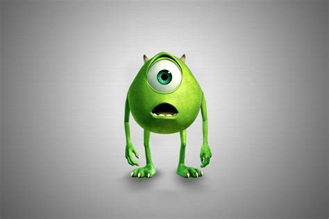 it monster mike wazowski monsters inc pixar movies walldevil