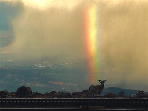 vertical rainbow part ii pikes peak summit