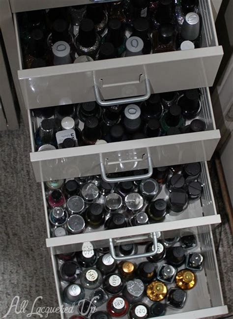 Nail And Storage Drawers by 1000 Images About Nail Organizer On