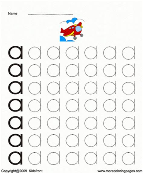 printable small letter dot to dots a coloring worksheets